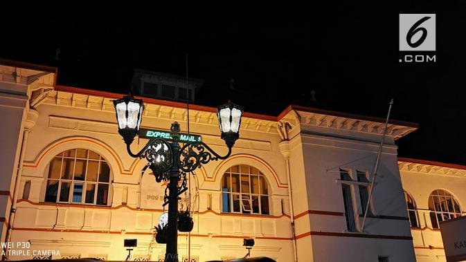 Menangkap objek malam hari dengan Night Mode Huawei P30 (Liputan6.com/ Agustin Setyo W)