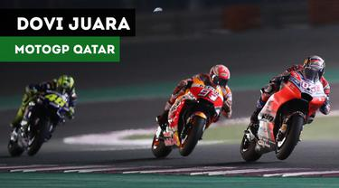 Berita Video Terpopuler 2018, Dovizioso Taklukkan Marquez dan Rossi di MotoGP Qatar