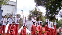 Kemeriahan di Puncak Perayaan Cap Go Meh di Glodok  (Foto: Okti Nur Alifia)