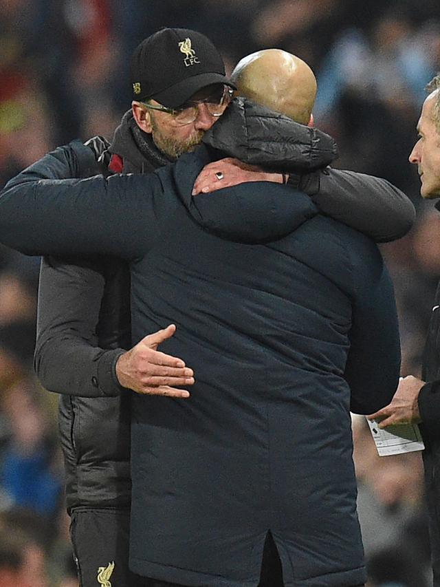 Ekspresi Kecewa Jurgen Klopp Usai Liverpool Kalah Atas City