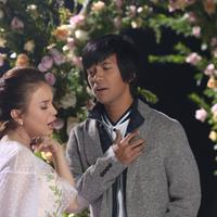Syuting video klip D'Masiv Feat Rossa (Nurwahyunan/bintang.com)