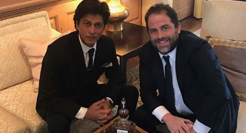 Shahrukh Khan dan Brett Ratner (The Indian Express)