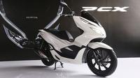 Honda PCX terbaru diproduksi di dalam negeri. (AHM)