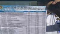 Berikut tarif batas dan bawah bus AKAP kelas ekonomi dari data Kemenhub. (Liputan6.com/Achmad Dwi Afriyadi)