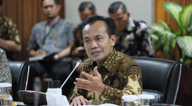 Sekretaris Kementerian Koordinator Bidang Susiwijono Moegiarso