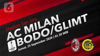 AC Milan vs Bodo/Glimt (Liputan6.com/Abdillah)