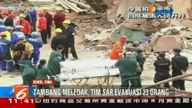 Dalam insiden ini 11 penambang meninggal, 9 luka-luka, dan dua orang masih belum ditemukan.
