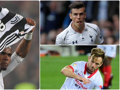 Gareth Bale kembali ke Tottenham dengan status pinjaman dari Real Madrid di bursa transfer musim ini. Selain Bale ada pemain bintang lain yang kembali memperkuat klub asalnya musim ini. Berikut 5 pemain yang kembali ke mantan klubnya di bursa transfer musim ini. (kolase foto AFP)