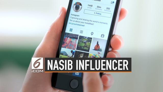 Setidaknya 7 negara menjadi lokasi uji coba instagram menyembunyikan like. Kebijakan tersebut dianggap merugikan influencer.