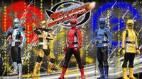 Tokumei Sentai Go-Busters, serial yang menjadi bahan utama Power Rangers Beast Morphers. (Toei)