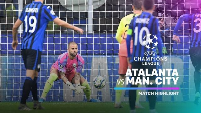 Berita video highlights matchday 4 Grup C Liga Champions 2019-2020 antara Atalanta melawan Manchester City yang berakhir dengan skor 1-1, Rabu (6/11/2019).