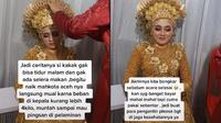 Cerita Wanita Muntah dan Ingin Pingsan saat Pernikahan. (Sumber: TikTok/ @yolanda_riaspengantin)
