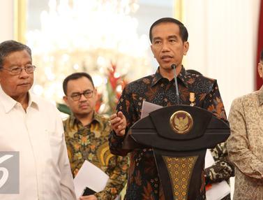 20150909- Jokowi Umumkan Tiga Paket Kebijakan Ekonomi-Jakarta