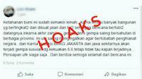 Penyebar Hoaks Gempa di Jakarta Ditangkap Polisi. (Liputan6.com/M Syukur)