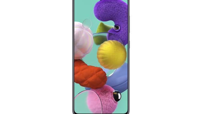 Tampilan Samsung Galaxy A51 (sumber: Samsung)