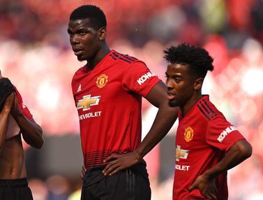 FOTO: Manchester United Tutup Akhir Musim dengan Kekalahan
