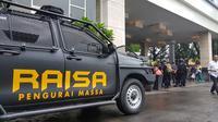 Raisa, mobil pengurai massa di Pilkada Sulsel 2018. (Liputan6.com/Fauzan)