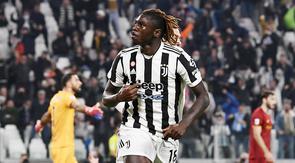 Juventus keluar sebagai pemenang pada laga sengit kontra AS Roma di Liga Italia, Senin (18/10/2021). (Fabio Ferrari/LaPresse via AP)