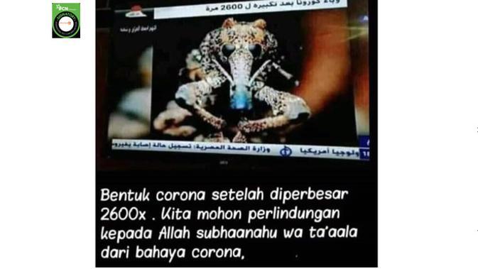 Beredar Foto Penampakan Virus Corona, Benarkah?