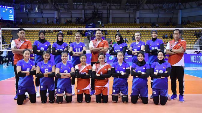 Kualifikasi Olimpiade 2020: Timnas Voli Putri Indonesia ...