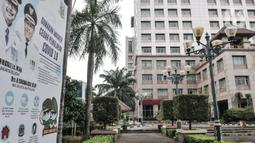 Suasana Kantor Wali Kota Jakarta Selatan, Jakarta, Kamis (17/9/2020). Kantor Wali Kota Jakarta Selatan ditutup sementara mulai hari ini hingga dibuka kembali pada 21 September setelah tujuh ASN ditemukan positif terpapar Covid-19. (merdeka.com/Iqbal S. Nugroho)