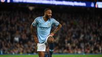 2. Raheem Sterling (Man City) - 8 gol dan 6 assist (AFP/Paul Ellis)teguh