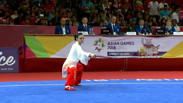 Saksikan Perjuangan Lindswell Meraih Medali Emas Kedua pada Asian Games 2018 di Vidio.com