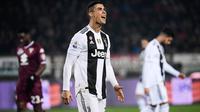 2. Cristiano Ronaldo (Juventus) - 11 gol dan 5 assist (AFP/Marco Bertorello)
