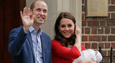 Momen Mesra Kate Middleton dan Pangeran William
