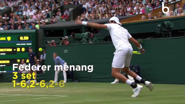Berita Video Roger Federer, Rafael Nadal dan Djokovic Melangkah Mulus ke Perempat Final
