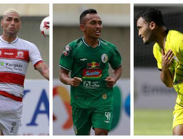 FOTO: 3 Pemain Pencetak Gol Tendangan Bebas Indah pada Matchday 1 Piala Menpora 2021