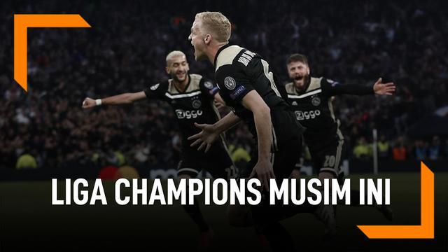 Deretan Comeback Liga Champions Musim Ini