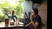 Ketua Slemania, Rengga Dian Senjaya dalam podcast PSS Sleman. (Tangkapan layar/YouTube PSS)