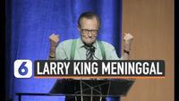 Penyiar legendaris  televisi Amerika Serikat Larry King meninggal dunia dalam usia 87 tahun. Simak sepak terjangnya selama beberapa dekade dalam dunia penyiaran radio dan televisi.
