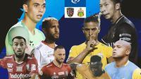 BRI Liga 1 - Duel Antarlini - Bali United Vs Bhayangkara FC (Bola.com/Adreanus Titus)