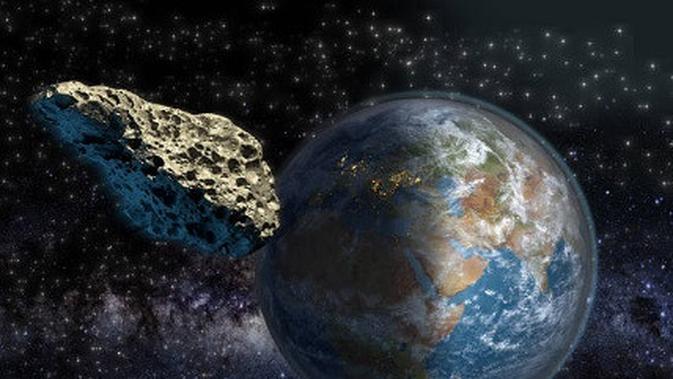 Terkuak Sudut Mematikan Asteroid Hantam Bumi Musna