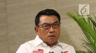 Wakil Ketua Tim Kampanye Nasional (TKN) Jokowi-Ma'ruf, Moeldoko