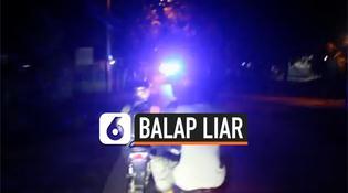 VIDEO: Balap Liar Puluhan Remaja Digelandang ke Mapolsek
