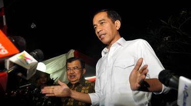 Jokowi-JK Bubarkan Pokja Tim Transisi