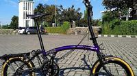 Sepeda Brompton ala Bandung, Kreuz, yang kebanjiran pesanan (Dok.Instagram/@kreuz.pannier/https://www.instagram.com/kreuz.pannier/?hl=en/Komarudin)