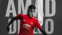 Amad Diallo resmi menjadi pemain Manchester United atau MU. (foto: Instagram @amaddiallo79)
