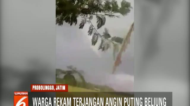Angin puting yang berhembus selama hampir 5 menit ini memporak porandakan tiga desa di Kecamatan Gending, yakni Desa Pesisir, Bulang, dan Brumbung Lor.
