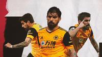 Pemain Wolverhampton: Ruben Neves. (Bola.com/Dody Iryawan)