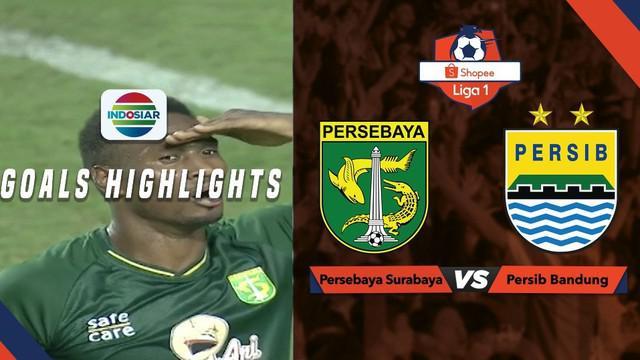 Berita video gol-gol yang tercipta pada laga Shopee Liga 1 2019 antara Persebaya Surabaya melawan Persib Bandung pada Jumat (5/7/2019).