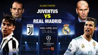 Prediksi Juventus Vs Real Madrid (Liputan6.com/Trie yas)