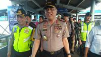 Wakapolri Komjen Syafruddin di Pelabuhan Merak, Banten (Liputan6.com/ Yandhi Deslatama)