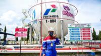 Pertamina pastikan pasokan BBM dan LPG di Sumbagsel aman saat ramadan dan jelang Idul Fitri 1442 Hijriah (Dok. Humas Pertamina MOR II / Nefri Inge)