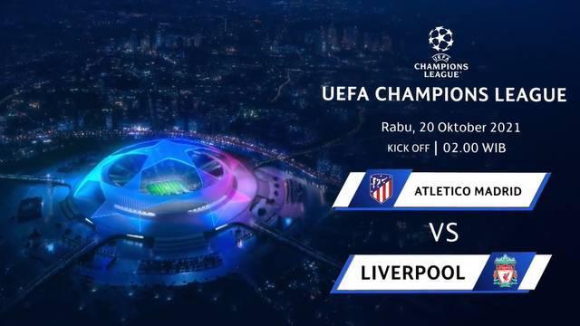 Berita video teaser MD3 Liga Champions, Atletico Madrid vs Liverpool, Rabu dini hari (20/10/21)