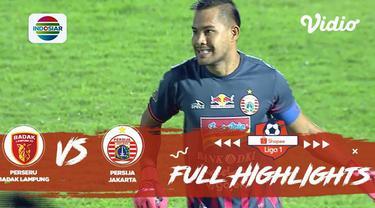Berita video highlights Shopee Liga 1 2019 antara Perseru Badak Lampung FC melawan Persija Jakarta yang berakhir dengan skor 2-0, Minggu (8/12/2019).