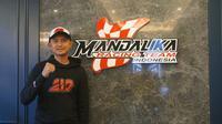 Dimas Ekky Pratama akan turun di kelas Moto2 ajang FIM CEV Repsol 2021. (Dokumentasi Mandalika Racing Team)